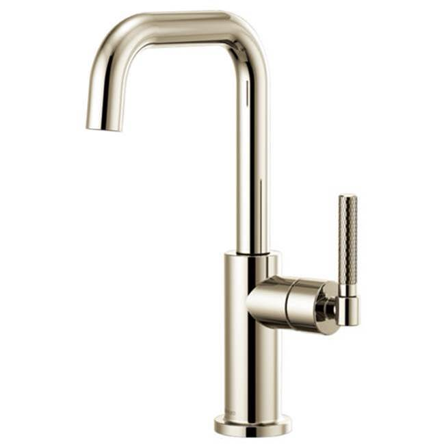 Brizo Litze: Bar Faucet with Square Spout and Knurled Handle