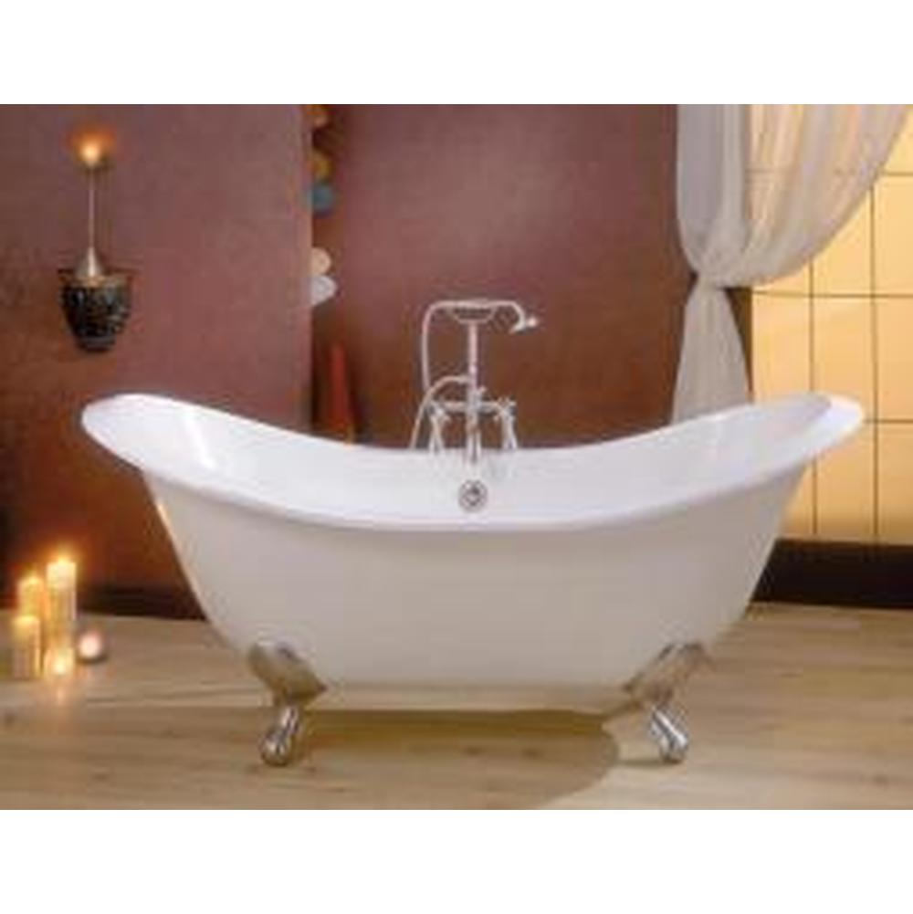 Cheviot Products REGENCY Cast Iron Bathtub with Faucet Holes