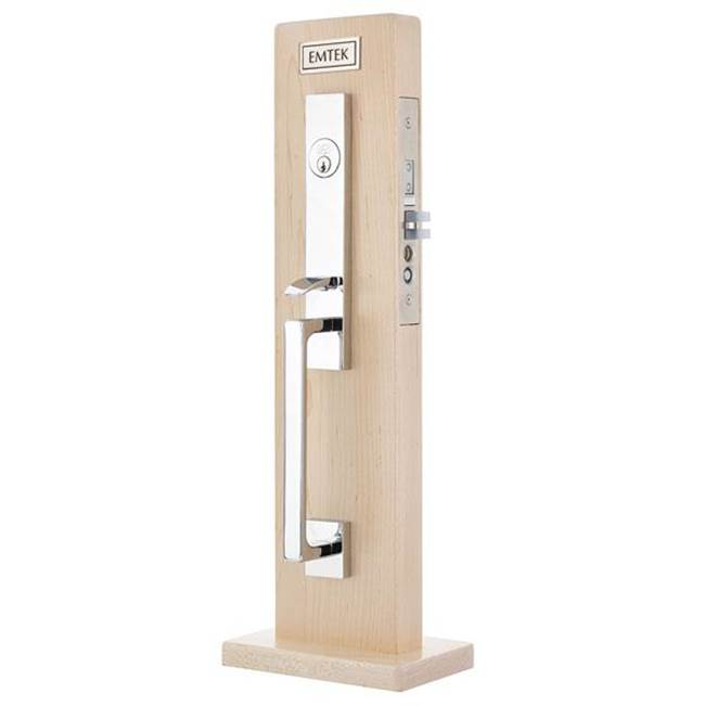 Emtek Dummy, Brisbane Narrow Mortise, Elan Lever, Rh, US15