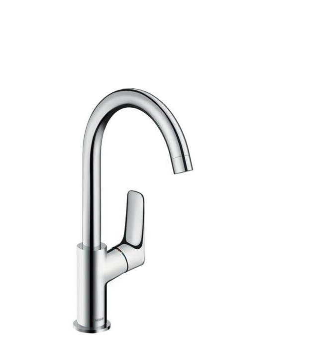 Hansgrohe Logis Single-Hole Faucet 210 With Swivel Spout And Pop-Up Drain, 1.2 Gpm In Chrome
