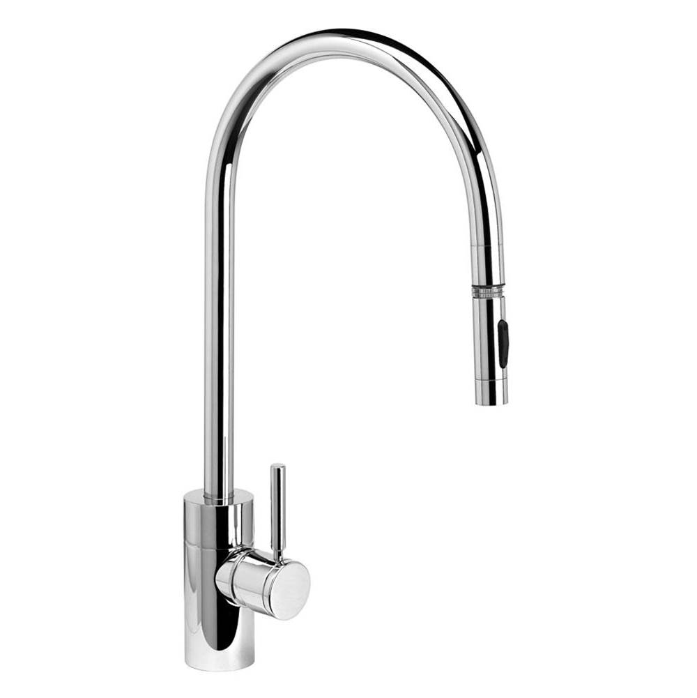 Waterstone Contemporary Extended Reach Plp Pulldown Faucet - Toggle Sprayer